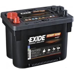 Аккумулятор EXIDE Start AGM EM 1000 50Ah
