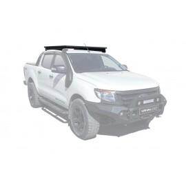 Багажник алюминиевый (платформа с креплением) Rival 1235x1430 для Ford Ranger T6 2012-