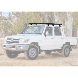 Багажник алюминиевый (платформа с креплением) Rival 1715x1430 для Toyota Land Cruiser 79 2007-