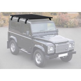 Багажник алюминиевый (платформа с креплением) Rival 1955x1430 для Land Rover Defender 90 1990 - 2016