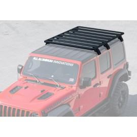 Багажник алюминиевый (платформа с креплением) Rival 1715x1430 для Jeep Wrangler JL 4дв. 2017-