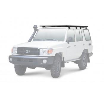 Багажник алюминиевый (платформа с креплением) Rival 2435x1430 для Toyota Land Cruiser 76 2007-