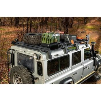 Багажник алюминиевый (платформа с креплением) Rival 2675x1430 для Land Rover Defender 110 1990 - 2016