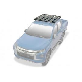 Багажник алюминиевый (платформа с креплением) Rival 1235x1430 для Mitsubishi L200 2015-
