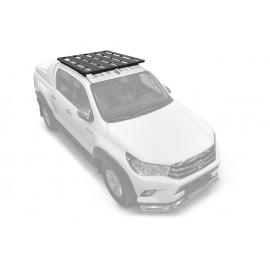 Багажник алюминиевый (платформа с креплением) Rival 1235x1430 для Toyota Hilux 2015-