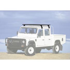 Багажник алюминиевый (платформа с креплением) Rival 1475x1430 для Land Rover Defender 130 1990 - 2016