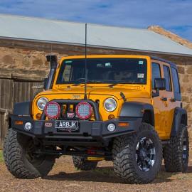 Бампер ARB Deluxe Combination передний Jeep Wrangler JK (Гладкое покрытие)