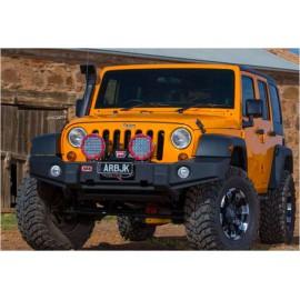 Бампер ARB Winch Bumper передний Jeep Wrangler JK (Гладкое покрытие)