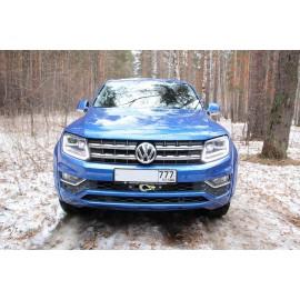 Комплект для скрытой установки лебедки Rival на Volkswagen Amarok