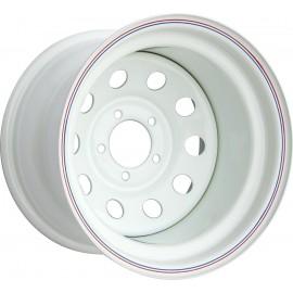 Диск JEEP стальной белый 5х114,3 10xR15 d84 ET-50
