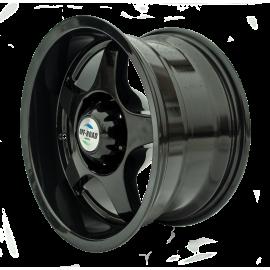 Диск Тойота Ниссан литой черный 6x139,7 10xR16 d110 ET-44