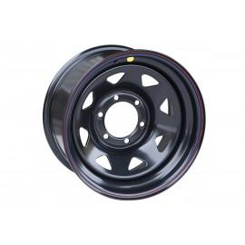 Диск усиленный Toyota Hilux 2.5D, 3.0D стальной черный 6x139,7 8xR16 d110 ET-10 (треуг. мелк.)