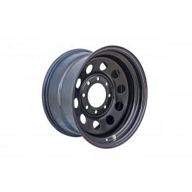 Диск усиленный Dodge Ram 2500/3500, Hummer H1/H2 стальной черный 8x165.1 9xR17 d121 ET0