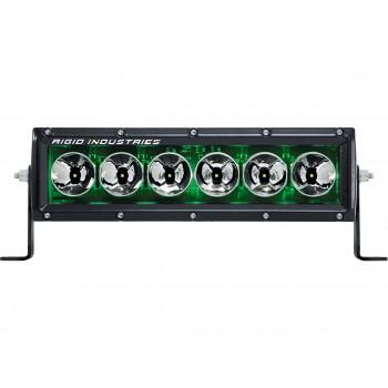 "RIGID Radiance Plus cерия (6 Светодиодов) Зелёная подсветка 10"""