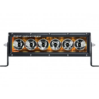 "RIGID Radiance Plus cерия (6 Светодиодов) Янтарная подсветка 10"""
