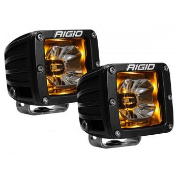 RIGID Radiance Pod (3 светодиода) – Янтарная подсветка (пара)