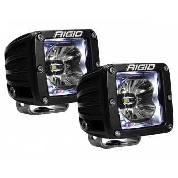 RIGID Radiance Pod (3 светодиода) – Белая подсветка (пара)