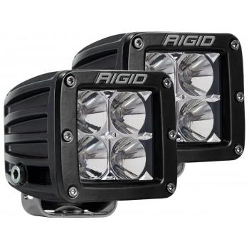 RIGID D-серия PRO (4 светодиода) – Ближний свет (пара)