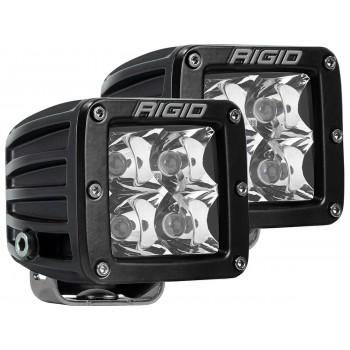 RIGID D-серия PRO (4 светодиода) – Дальний свет (пара)