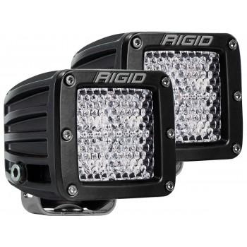 RIGID D-серия PRO (4 светодиода) – Рабочий свет (пара)