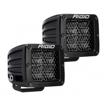 RIGID D-серия PRO (4 светодиода) – Рабочий свет (пара) Midnight Edition