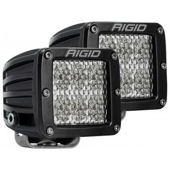 RIGID D-серия PRO (6 светодиодов) – Рабочий свет (пара)