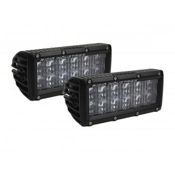 RIGID SAE-Серия E6″(12 светодиодов) Дополнительный дальний свет (пара)