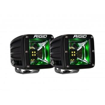 RIGID Radiance Scene (4 светодиода) – Зелёная подсветка (пара)