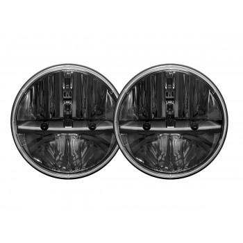 RIGID фара головного света 7″ , комплект 2 шт. (DOT сертификация)