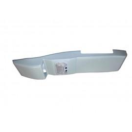 Консоль потолочная для установки р/c УАЗ Патриот рестайлинг 2014, без выреза под р/c, серая,с УП2015