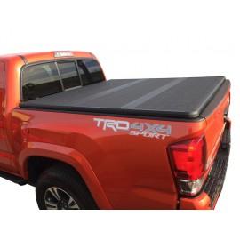 Жесткая трехсекционная крышка Kramco для Toyota Tacoma
