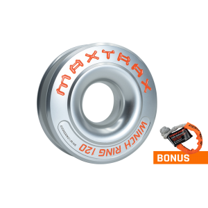 Алюминиевое кольцо для лебедки MAXTRAX Winch Ring 120