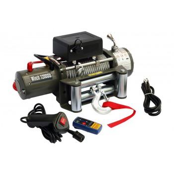 Лебёдка электрическая 12V Electric Winch 12000 lbs 5443 кг