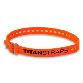 Ремень крепёжный TitanStraps Super Straps оранжевый L = 64 см (Dmax = 18,4 см, Dmin = 4,5 см)