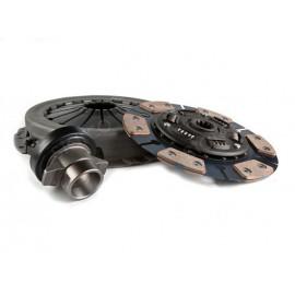 Сцепление Starco в сборе УАЗ дв.ЗМЗ-409 КПП DYMOS (Корея) 5 ступ.(УСИЛЕННОЕ) (накладка керамика Miba)