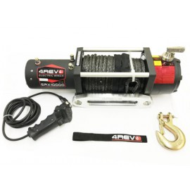 Лебедка автомобильная 4REVO SRX Fast Speed 10000 12В Синтетический трос