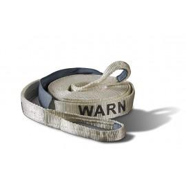 Буксировочный трос Warn PREM 8см х 9м 21600lbs