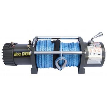 Лебёдка электрическая 12V CM12000S с синтетическим тросом