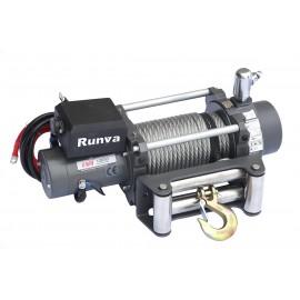 Лебёдка электрическая (индустр.) 24V Runva 12000 lbs 5700 кг (c пневмороспуском)