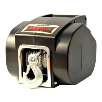 Переносная электро-ручная лебедка Dragon winch DWP 5000 12V
