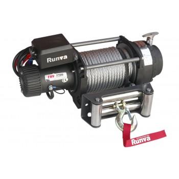 Лебёдка электрическая (индустр.) 12V Runva 17500 lbs 7960 кг