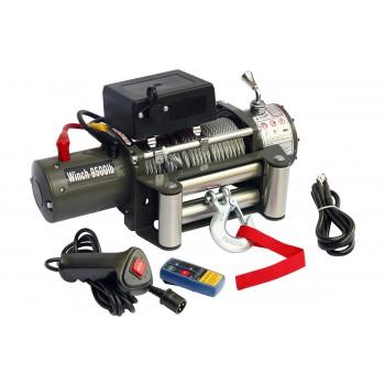 Лебёдка электрическая 12V Electric Winch 9500 lbs 4310 кг