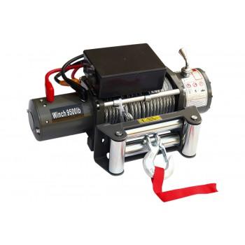 Лебёдка электрическая 12V Electric Winch 9500 lbs 4310 кг (влагозащищенная)