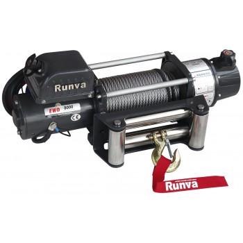 Лебёдка электрическая двухскоростная 12V Runva 8000 lbs 3629 кг