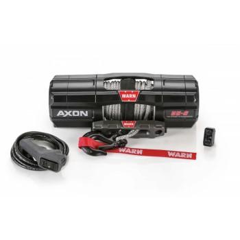 Лебёдка для квадроцикла WARN AXON 55-S с синтетическим тросом
