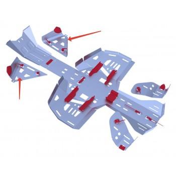 Защита передних рычагов Rival для BRP (Can-Am) Renegade G2 ATV 2013-, 4.7221.1-5