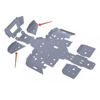 Защита передних рычагов Rival для Polaris ATV Sportsman touring 500 H.O. (2-местный) 2011-2013, 4.7403.2-7