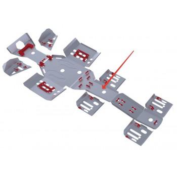 Защита заднего редуктора (часть 1) Rival для Polaris Sportsman 6*6 800 EFI BIG BOSS 2011-2014, 4.7411.1-3