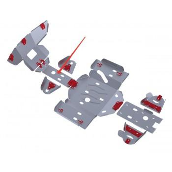 Защита переднего редуктора Rival для Yaguzi ATV DF700 2012-, 4.8101.1-2