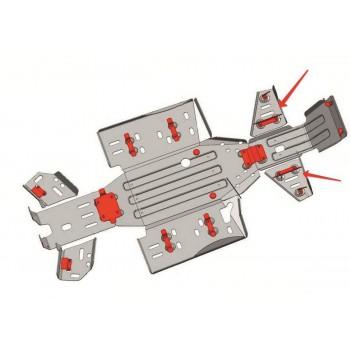 Защита передних рычагов Rival для CF Moto ATV 2011-, CF.0021-6